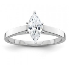 ##Y5809-001 1/3 Carat Marquise Diamond Solitaire Engagement Ring