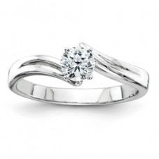 ##Y2891-001 1/3 Carat Round Brilliant Diamond Solitaire Engagement Ring