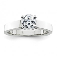 ##Y5824-001 1/4 Carat Round Brilliant Diamond Solitaire Engagement Ring